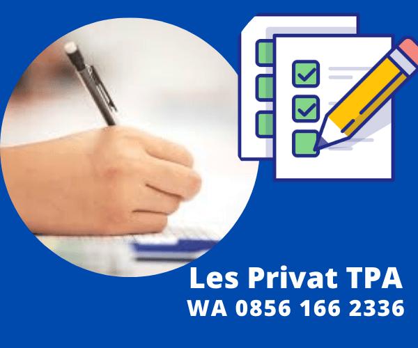 les privat TPA CPNS , S2 simak UI, TPS SBMPTN