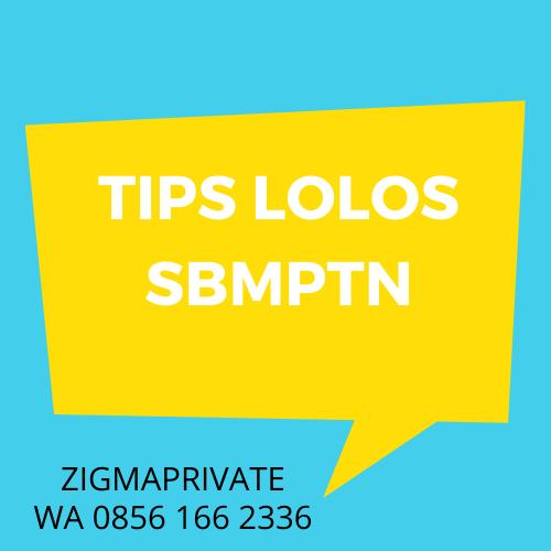 Tips Lolos SBMPTN 2021 1